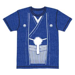 伽羅古袴Tシャツ【ブルー×ホワイト】