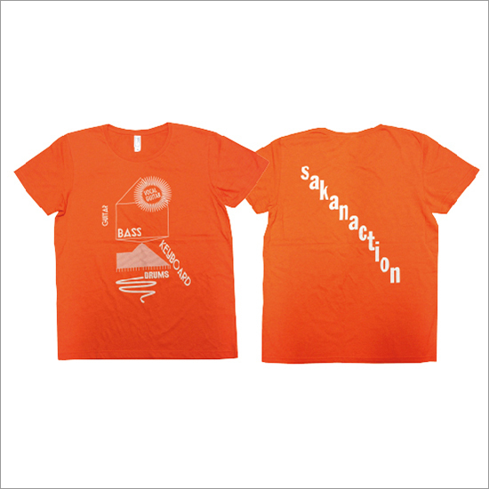 Core component of sakanaction T-shirts(orange)