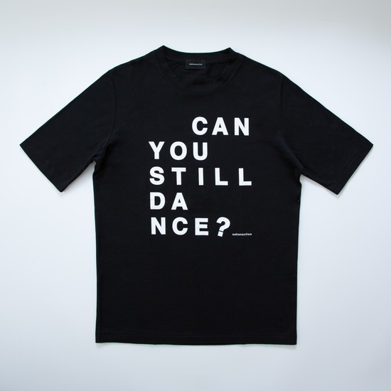 """Can you still dance?"" SPLIT RAGLAN TEE"