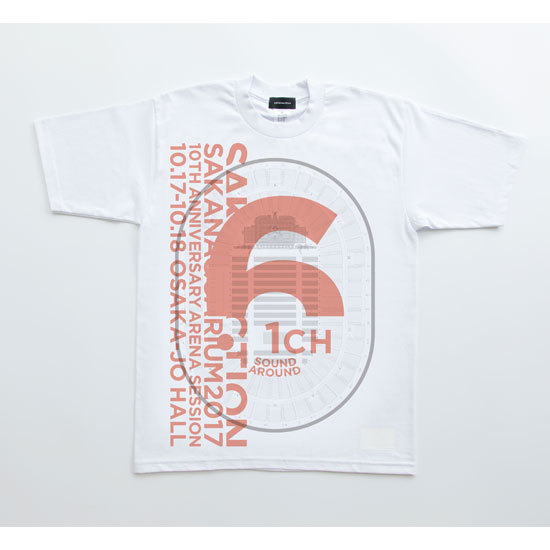 6.1ch Drawing TEE(Orange)
