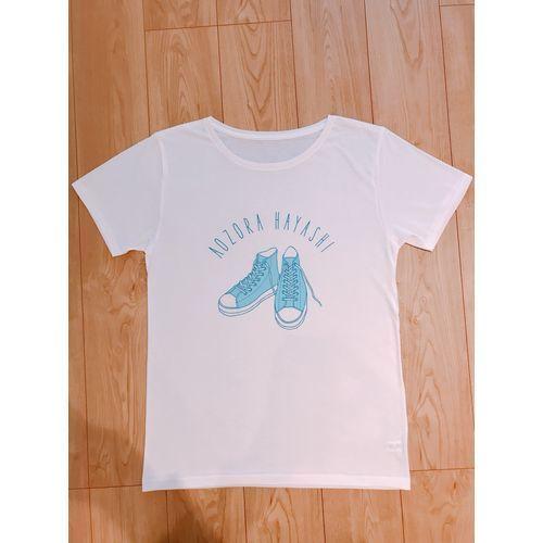 【林青空】コバルトブルースニーカー Tシャツ