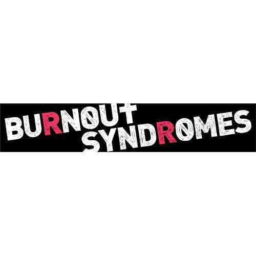 【BURNOUT SYNDROMES】[復刻]ロゴマフラータオル(ブラック)