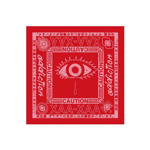 【ザアザア】赤色バンダナ