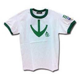 ヤマトコラボグッズ 宇宙戦艦ヤマト2199×大阪市音楽団コラボTシャツ【白×緑】