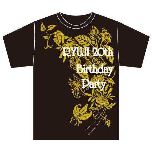 【FC会員限定】[DISH//]RYUJI 20th Birthday party ~リベンジ!今年こそ本物のスーパーヒーローになるぞ!~Tシャツ