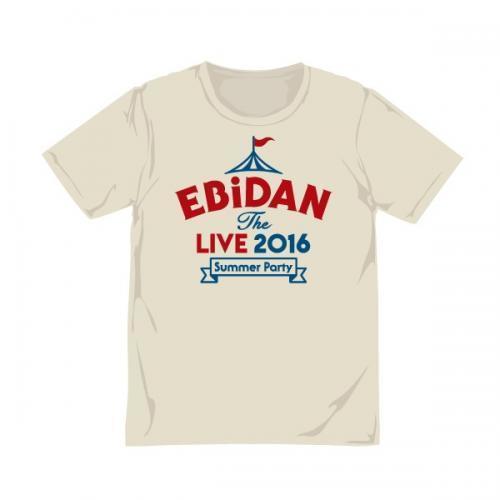 [EBiDAN]EBiDAN THE LIVE 2016 Tshirt(Natural)