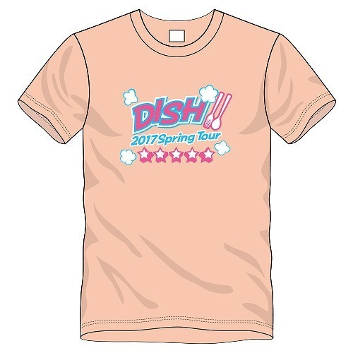 [DISH//]実食会 Tシャツ(ライトオレンジ)