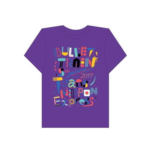 [超特急]Trans NIPPON Express Tshirt(紫)