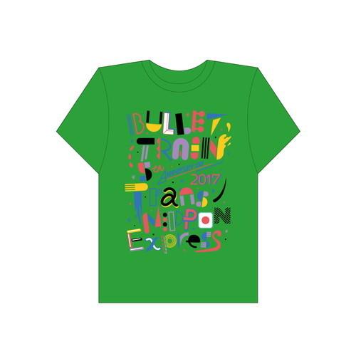 [超特急]Trans NIPPON Express Tshirt(緑)