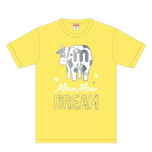 [M!LK] Mow Mow DREAM Tshirt(黄)