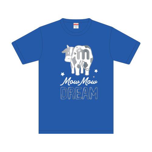 [M!LK] Mow Mow DREAM Tshirt(青)