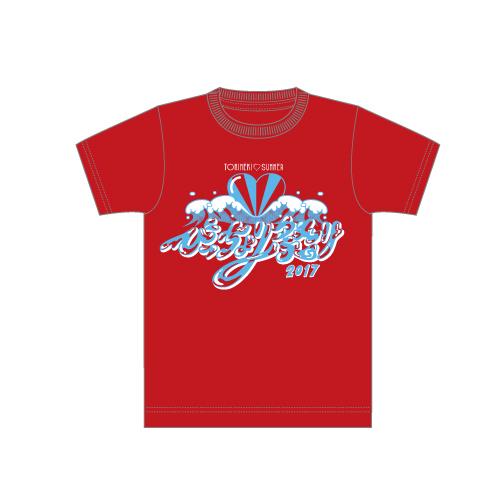 [ときめき宣伝部]びっちょり祭り2017 Tシャツ(赤)