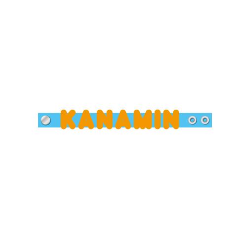 [ときめき宣伝部]ときめき推しの名入り シリコンバンド KANAMIN