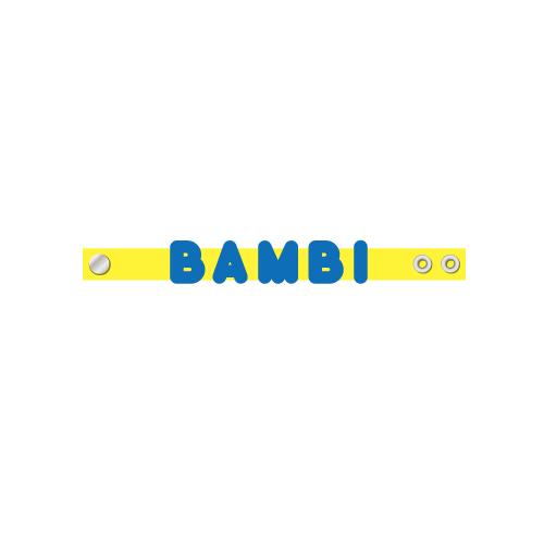 [ときめき宣伝部]ときめき推しの名入り シリコンバンド BAMBI