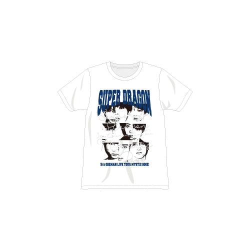 [SUPER★DRAGON]MYSTIC BOOK Tshirt(White)