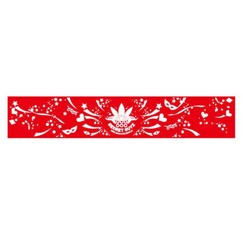 [SECRET GUYZ]2016サマーマフラータオル(赤)