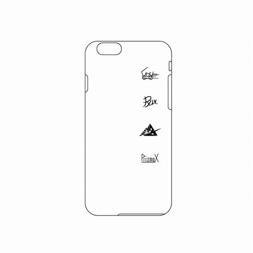 [PrizmaX]LEVEL3 iPhoneケース ※ハードタイプ(白)