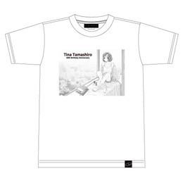 大島智子さんイラストTシャツ