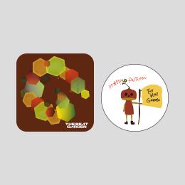 THE BEAT GARDEN 缶バッチ -Autumn ver.-