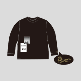 """""""THE FUTURE WITH ME"""" ロングTシャツ -Black"""