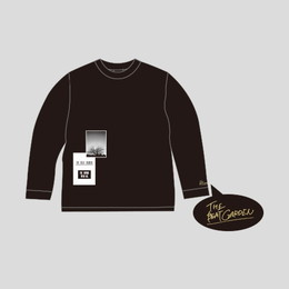 """THE FUTURE WITH ME"" ロングTシャツ -Black"