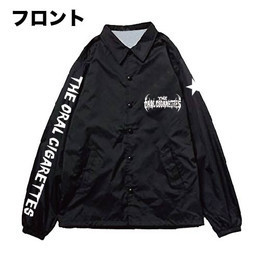 オリジナル目玉コーチジャケット/ブラック