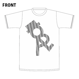 ORALくんTシャツ【ホワイト】