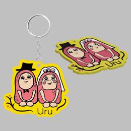 Uru character keyholder(Fukuoka ver.)