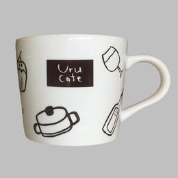 「ぽっ」とひと息、Uru Cafeカップ 第2弾