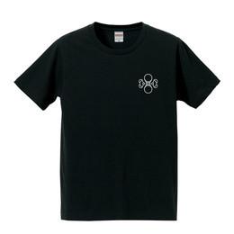 水ロゴTシャツ(ブラック)