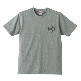 水ロゴTシャツ(グレー)