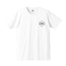 水ロゴTシャツ(ホワイト)