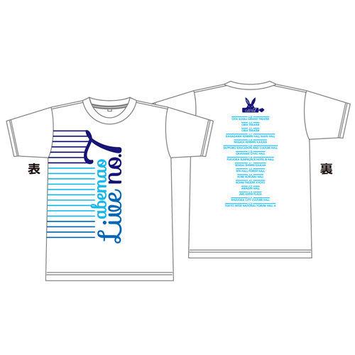 【阿部真央】ツアーTシャツ(らいぶNo.7)