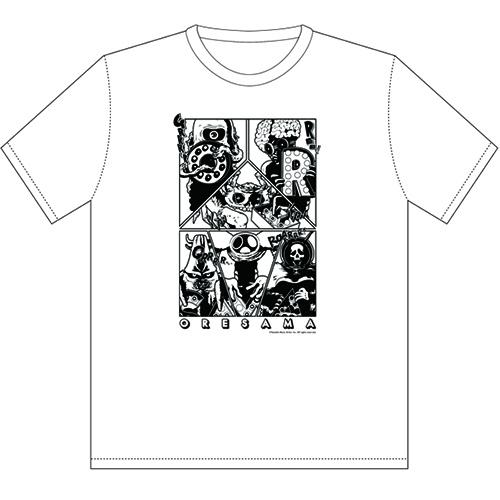 【ORESAMA】Tシャツ vol.2(ホワイト)