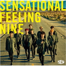 SF9 JAPAN 1st アルバム「Sensational Feeling Nine」【通常盤】