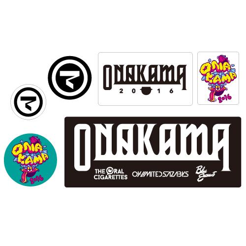 ONAKAMA STICKER 6-SET
