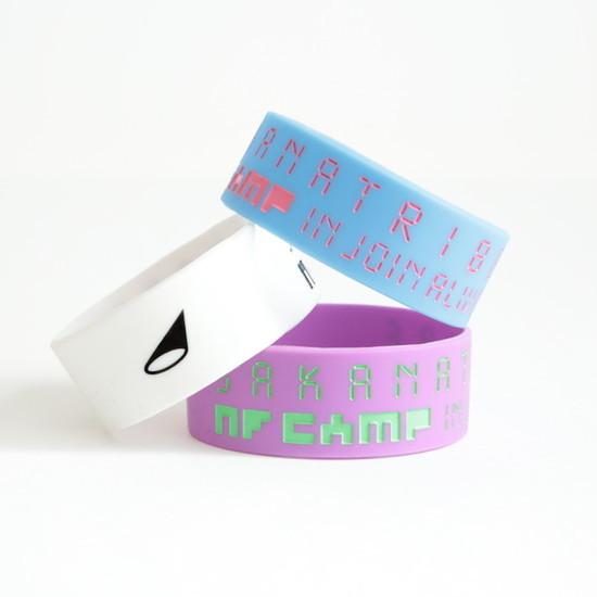 SAKANATRIBE rubber wristband set