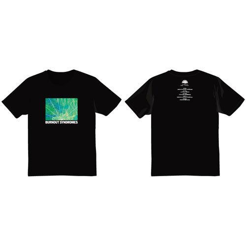 【BURNOUT SYNDROMES】孔雀 Tシャツ(黒)