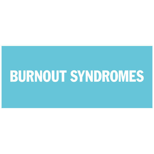 【BURNOUT SYNDROMES】LOGO タオル